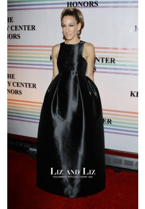Sarah Jessica Parker Black Formal Dress 34th Kennedy Center Honors