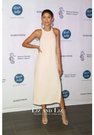 Zendaya Inspired Ivory Cocktail Party Homecoming Day Celebrity Dress