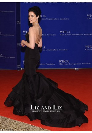 Jaimie Alexander Black Mermaid Dress White House Correspondents Dinner