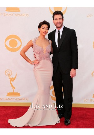 Shasi Wells Lavender Mermaid Celebrity Prom Dress Emmy Awards 2013