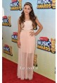 Ariana Grande Pale Pink Celebrity Dress Radio Disney Music Awards 2013