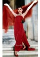 Audrey Hepburn Red Dress in Movie 'Funny Face'