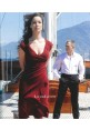 Berenice Marlohe Short Burgundy Dress in 007 Movie Skyfall James Bond Girl