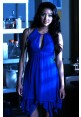 Emily Royal Blue Cocktail Party Homecoming Dress Pretty Little Liars