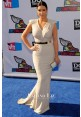 Kim Kardashian Sleeveless V-neck Dress VH1 Do Something Awards 2011