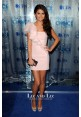 Selena Gomez Short Pink One-shoulder Dress People Choice Awards 2011